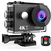 RUNME R2 4K WiFi Ultra HD Waterproof Action Camera with Remote Control