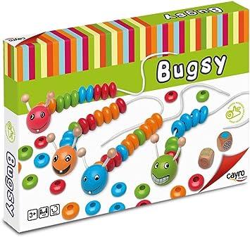 Cayro - Bugsy - Juego lógico/matemático - Juego de Mesa - Desarrollo de Habilidades cognitivas e inteligencias múltiples - Juego de Mesa (165): Amazon.es: Juguetes y juegos