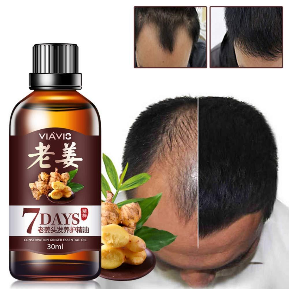 Olio di Capelli, PanDaDa Olio per la crescita dei capelli, Liquido per la crescita dei capelli alle erbe, Siero per ricrescita dei capelli, Trattamento per la perdita dei capelli per uomini e donne, 30ml
