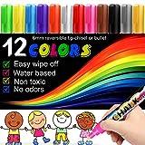 Best Chalk Markers - Chalk Markers -12PCS Premium Chalkboard Chalk Pens Non Review
