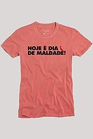 Camiseta Dia De Maldade Texto Reserva