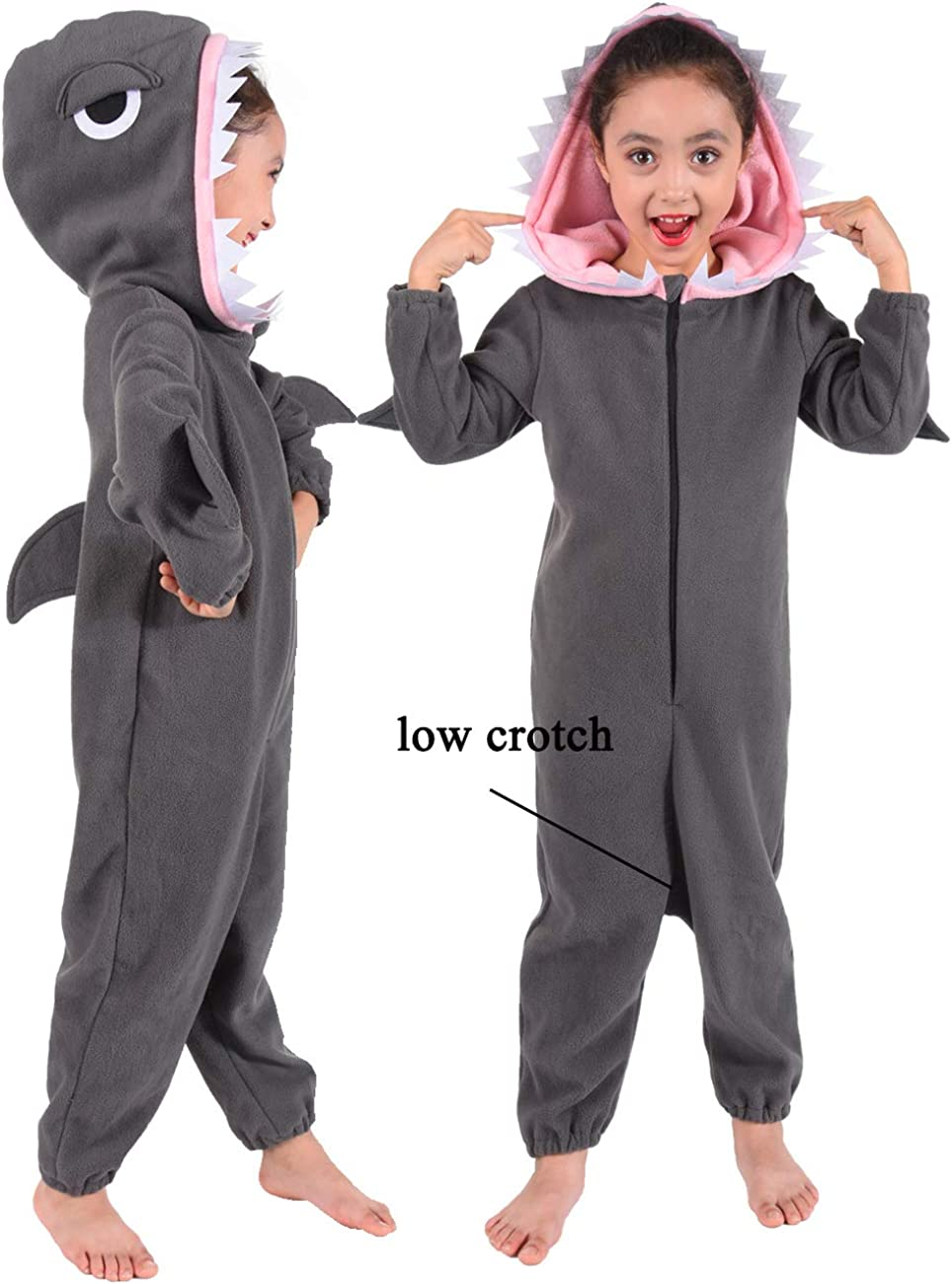 familus Unisex Animal Onesie Costume Pajamas for Kids