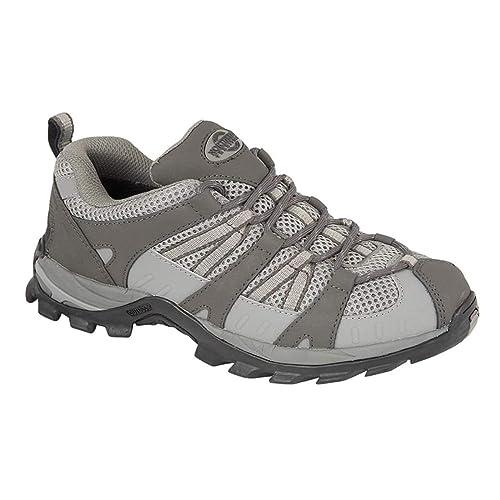 Zapatillas de senderismo de mujer, impermeables, color Gris, talla ...