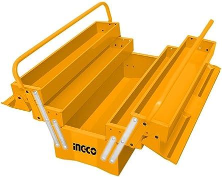 Ingco - Caja Metalica Htb02: Amazon.es: Bricolaje y herramientas