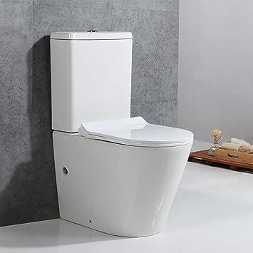 Top Basong Stand-WC Toilette Tiefspüler Kombination mit Spülkasten ZU49