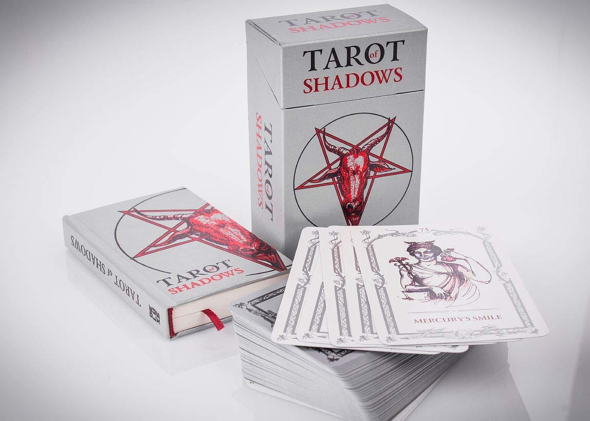SLVR TRT Tarot Shadows Sklyarova Silver Trim + Book Gift Set with Box Easter Gift by SLVR TRT (Image #4)