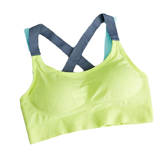 9b80a6950fe Generic Women s Elegant High Yoga Sports Bra Active Workout Top at ...