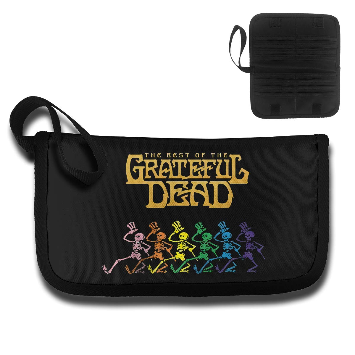 4.6oz KELTY S LANCE The Grateful Dead Customized Unisex Card Bag,with A Handle,Travel Wallet