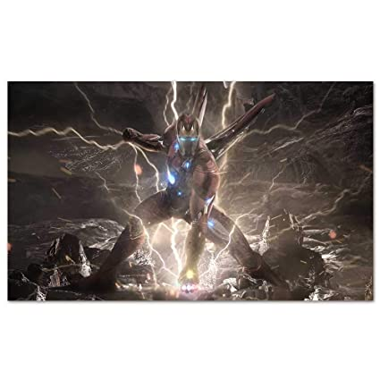 Amazon Com Cowspring Video Game Posters Iron Man Infinity Stones