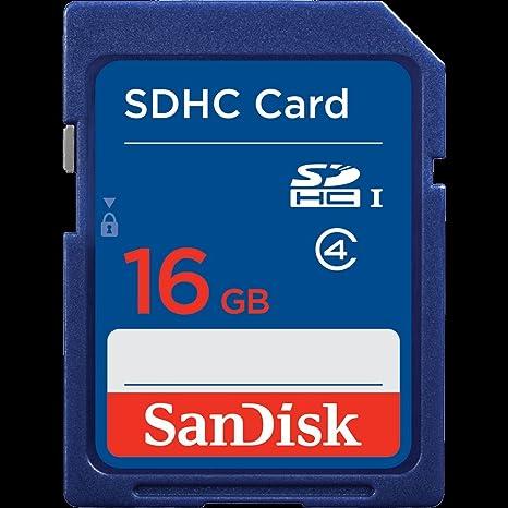 Sandisk Standard SDHC 16GB 16GB SDHC Memoria Flash - Tarjeta ...