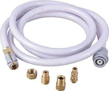 Delta Faucet RP40308GR Quick-Connect Vegetable Spray Hose - - Amazon.com