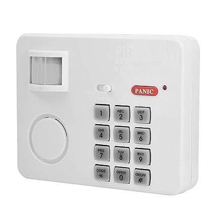 Alarma Casa Alarma de Detector de Movimiento inalámbrico IR Detector infrarrojo Detector de mouvement-antivol