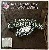Philadelphia Eagles Super Bowl Champions SD23278 Premium Acrylic Auto Emblem Raised Decal Football