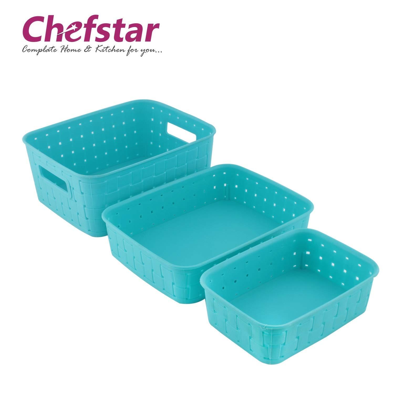 Chefstar Smart Baskets for Storage Set of 3 Pieces