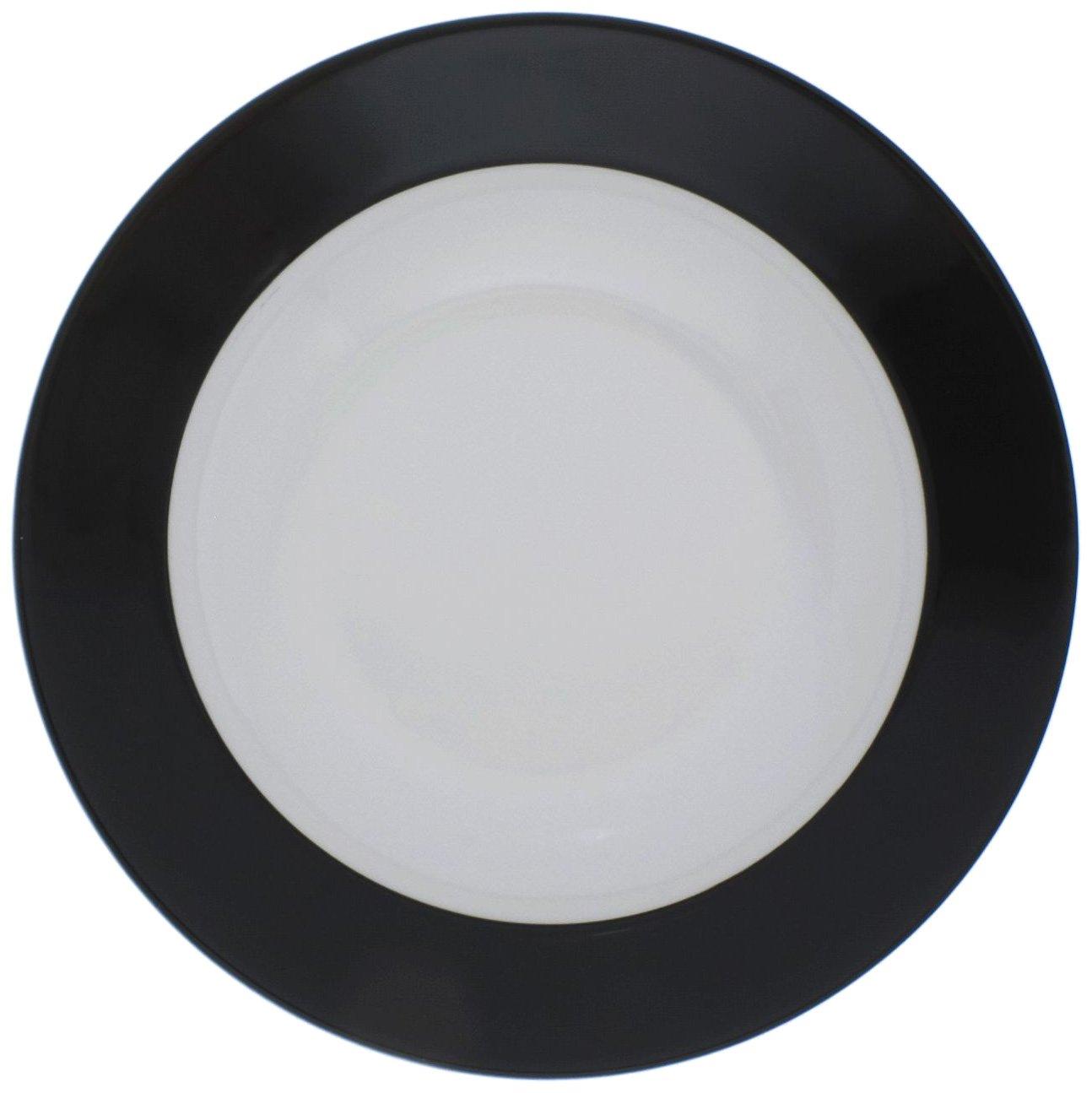 KAHLA Pronto Brunch Plate 9 Inches, Black Color, 1 Piece 576400A72128C