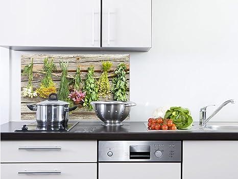 Grazdesign 20010180x50sp Spritzschutz Glas Für Kücheherd Bild