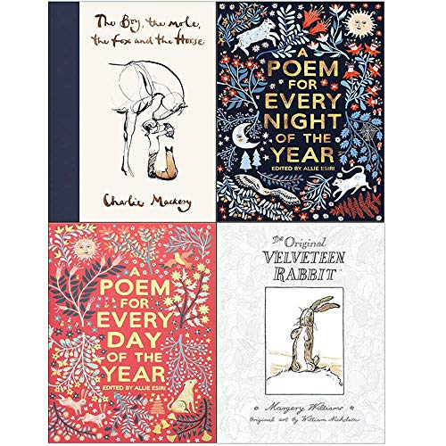 Book cover from The Boy The Mole The Fox and The Horse, A Poem for Every Night of the Year, A Poem for Every Day of the Year, The Velveteen Rabbit 4 Books Collection Set by Charlie Mackesy