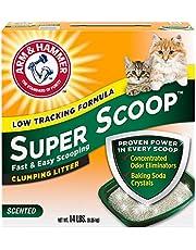 Arm & Hammer Super Scoop Clumping Litter, 6.35 kg