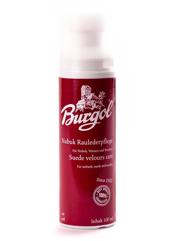 Burgol Nubuque Soins de suede 100 ml Bouteille avec L'éponge sur support Z13-7