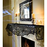 Grasslands Road Midnight Lace Mantle Scarf With