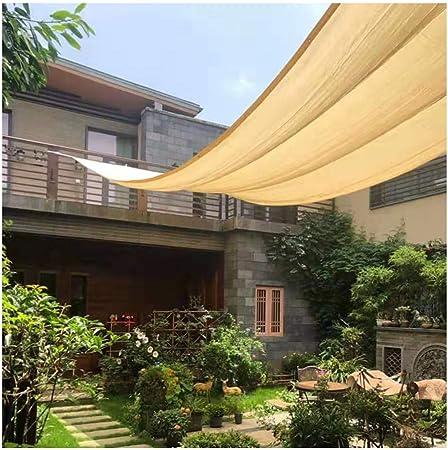 LJIANW Malla Sombra De Red 90% Bloqueador Solar Panel De Sombra Toldos De Jardín, Borde