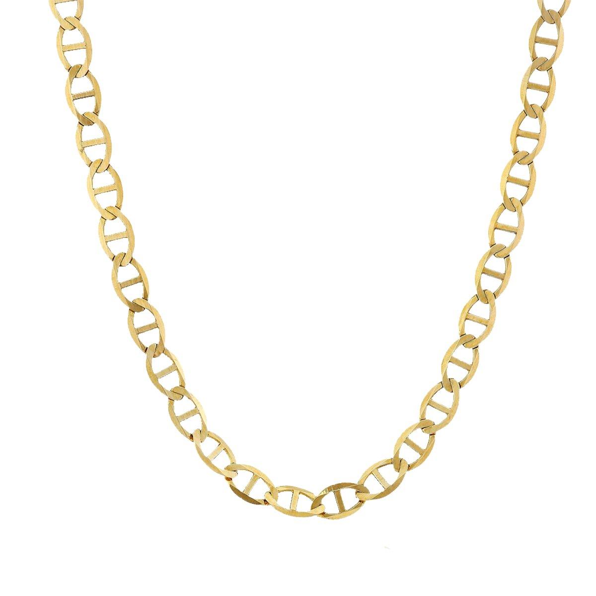 14k Yellow Gold Mariner 080 10'' Bracelet