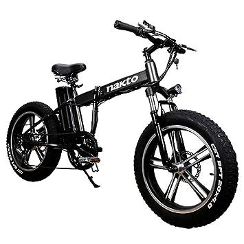 MERRYHE Bicicleta De Montaña Eléctrica De 20 Pulgadas 350W 48V 10Ah ...