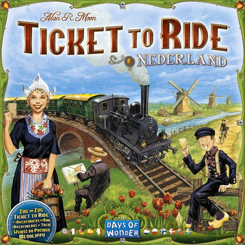 Ticket to Ride: Map Collection Volume 4 - Nederland - Ride Europe Board Game
