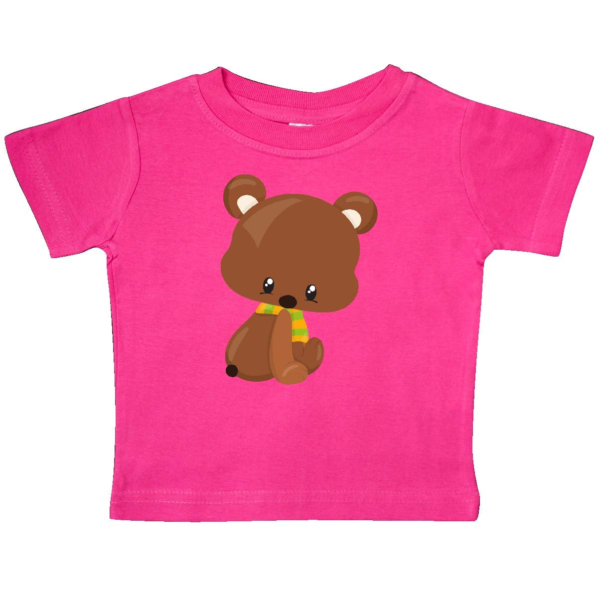 Brown Bear Baby T-Shirt inktastic Cute Little Bear with a Scarf