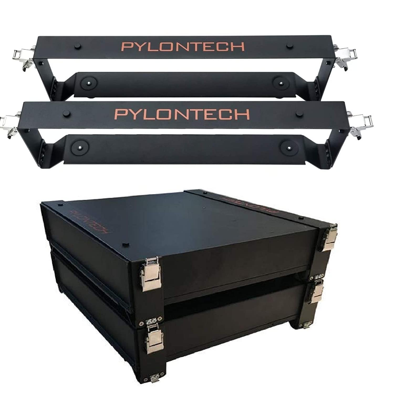 Brackets para Batería Litio 2.4kWh Pylontech US2000B Plus 48V