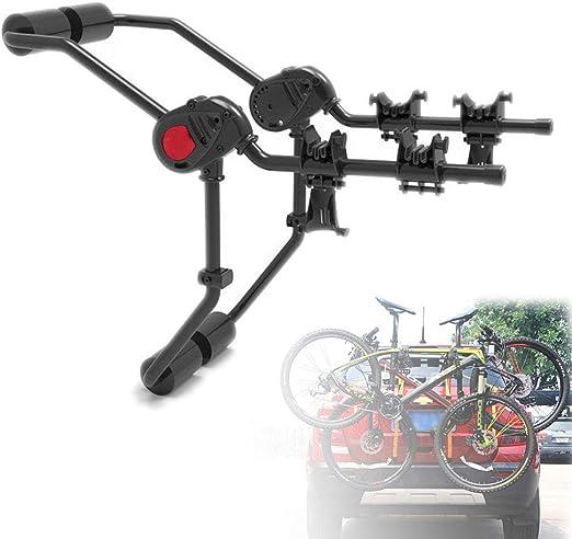 Portabicicletas Trasero Coche, Capacidad 2 Bicicletas, para Porton ...
