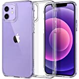 Spigen Ultra Hybrid Works with Apple iPhone 12 Case/iPhone 12 Pro Case (2020) - Crystal Clear