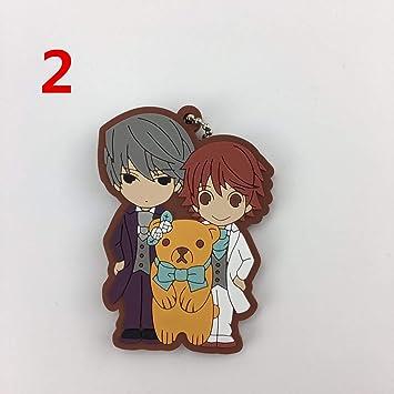 Amazon.com: Para Junjou Romantica de goma Anime llavero ...
