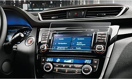 Lfotpp Nissan Qashqai J11 7 Zoll Navigation Schutzfolie 9h Kratzfest Anti Fingerprint Panzerglas Displayschutzfolie Gps Navi Folie Navigation