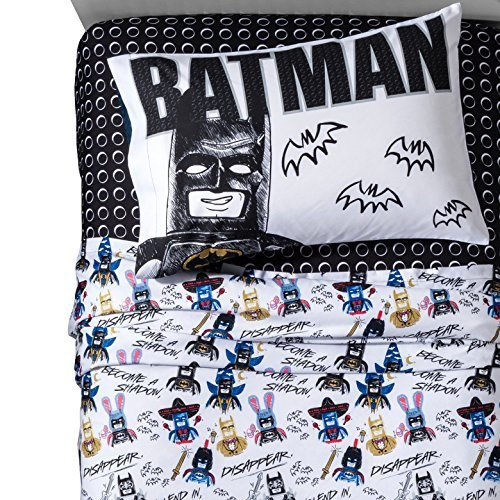 (LEGO Movie Sketchy Batman Twin Sheet Set)
