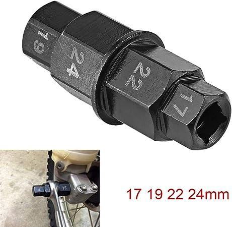 Steckachsen Nuss Einsatz Suzuki TL 1000 R 17-19-22-24 mm