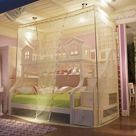 Cama para niños gabinete, redes de escalera Piso de pie, dormitorio de estudiantes, dormitorio, literas, camas, cama, camas, redes,Yellow,1.2m: Amazon.es: Hogar