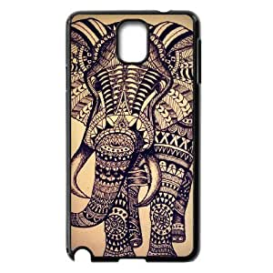 ALICASE Diy Case Elephant Aztec Tribal For samsung galaxy note 3 N9000 [Pattern-1]