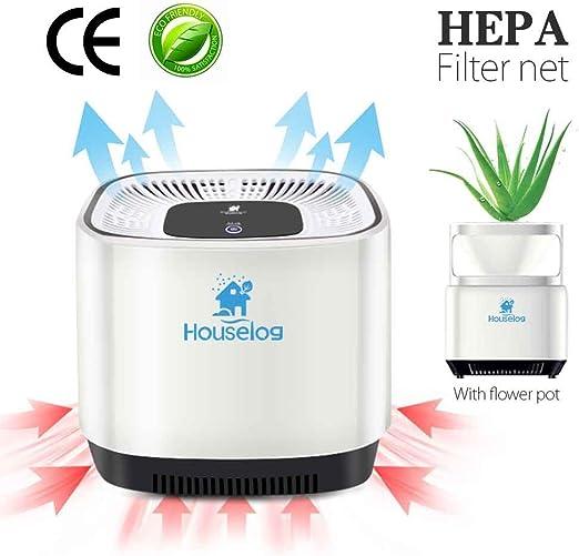 Houselog purificador de aire con filtro de aromaterapia portátil ...