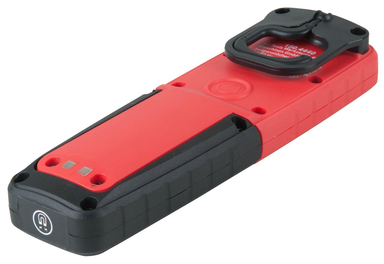 KS Tools 150.4440 perfectLight Werkstatt-Handlampe 400 Lumen Rot-Wei/ß