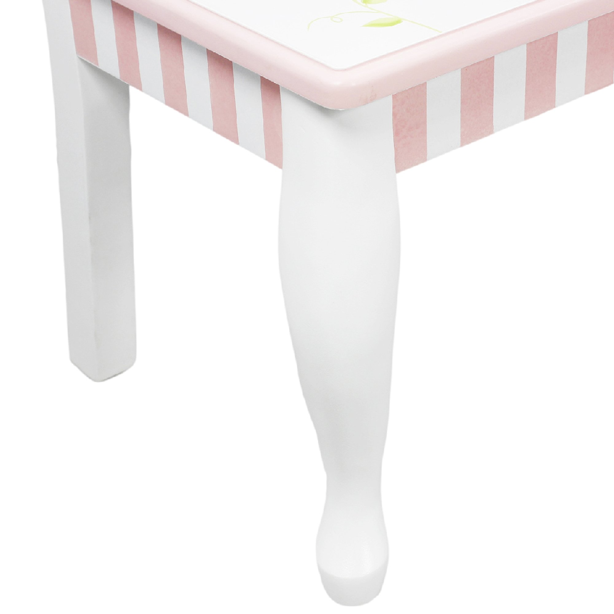 Fantasy Fields - Princess & Frog Thematic Hand Crafted Kids Wooden Table and 2 Chairs Set  Imagination Inspiring Hand Crafted & Hand Painted Details   Non-Toxic, Lead Free Water-based Paint by Fantasy Fields (Image #10)