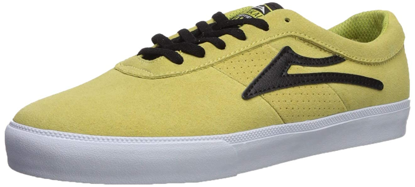 [ラカイリミテッドフットウェア] Lakai ユニセックスアダルト SHEFFIELD B07BX2SB54 10.5 D(M) US|Dusty Yellow/Black Suede Dusty Yellow/Black Suede 10.5 D(M) US