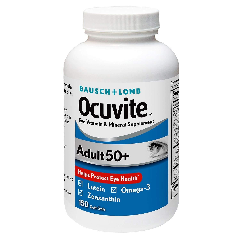 Bausch Lomb Ocuvite Supplement, Adult 50 150 ct.
