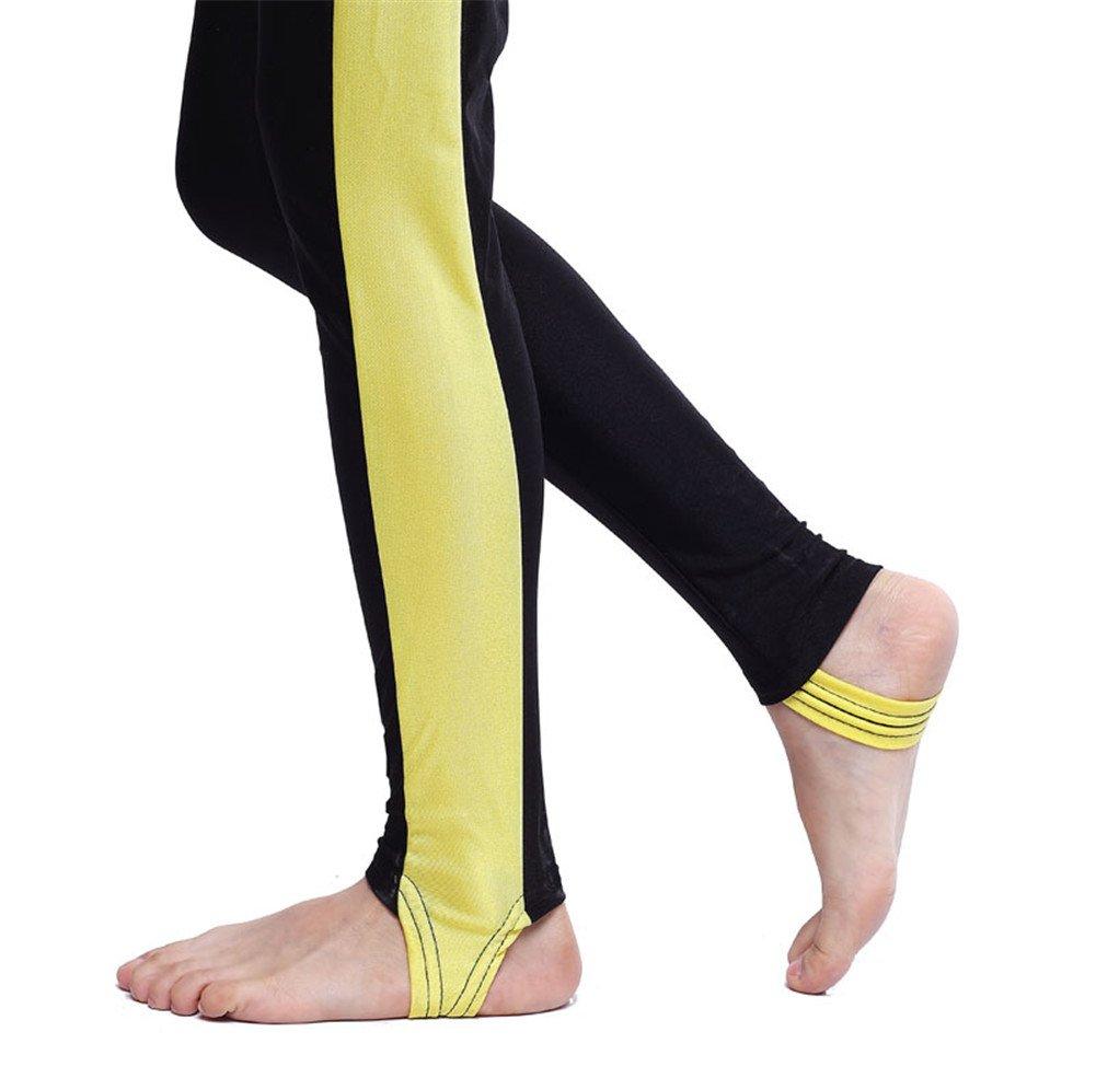 6cc71ad5a1b8aa CaptainSwim Maniche Lunghe Girls One Piece Swimsuit Muslim Islamic Modest  Costumi da Bagno Forniture per l'istruzione Yellow