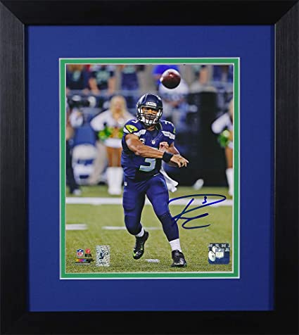 Discount Russell Wilson Autographed Seahawks Photo Beautifully Matted and  hot sale