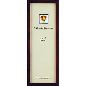 The Original 41 Square Corner GALLERY WOODS panoramic style in dark walnut-brown by Dennis