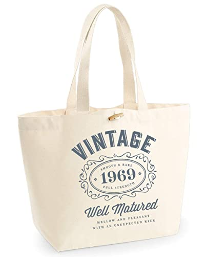 50th Birthday 1969 Keepsake Funny Gift Gifts For Women Novelty Ladies Female Looking Good Shopping Bag