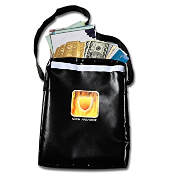 Amazon.com: Ignífugo bolsa de dinero pequeña bolsa de ...