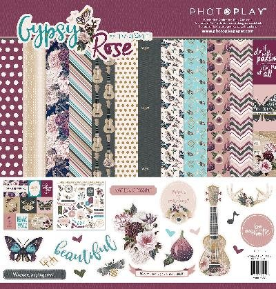 Gypsy Paper Pad - Gypsy Rose Collectn Gypsy Rose