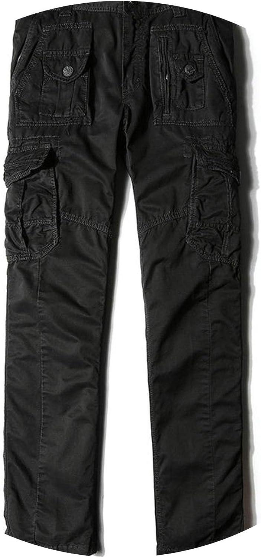 Long Cargo Pants Gray  Black Batik